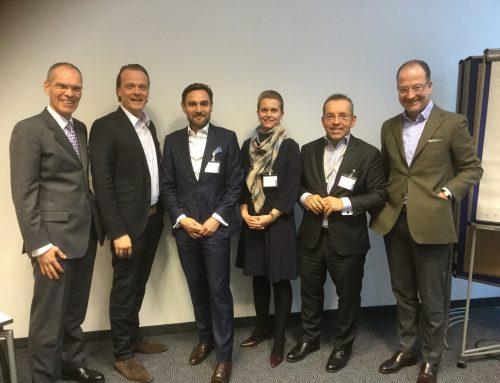 """Erste Sitzung unseres Kompetenz-Centers """"Customer Services"""" in 2018"""